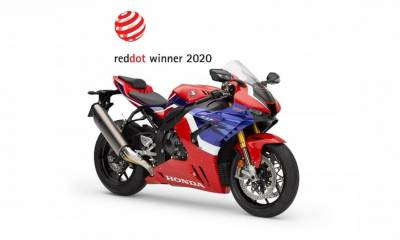 CBR1000RR-R Fireblade SP premio Red Dot 2020