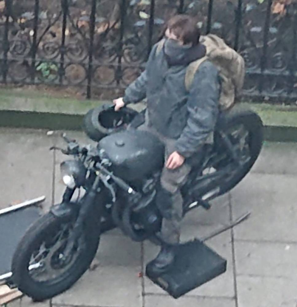 Robert Pattinson batcycle rat-bike