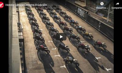Vídeo Honda Garage Dreams Contest 2020
