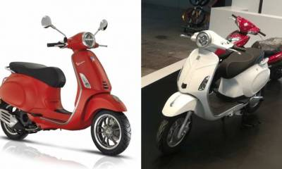 Piaggio invalidar intento copia Vespa