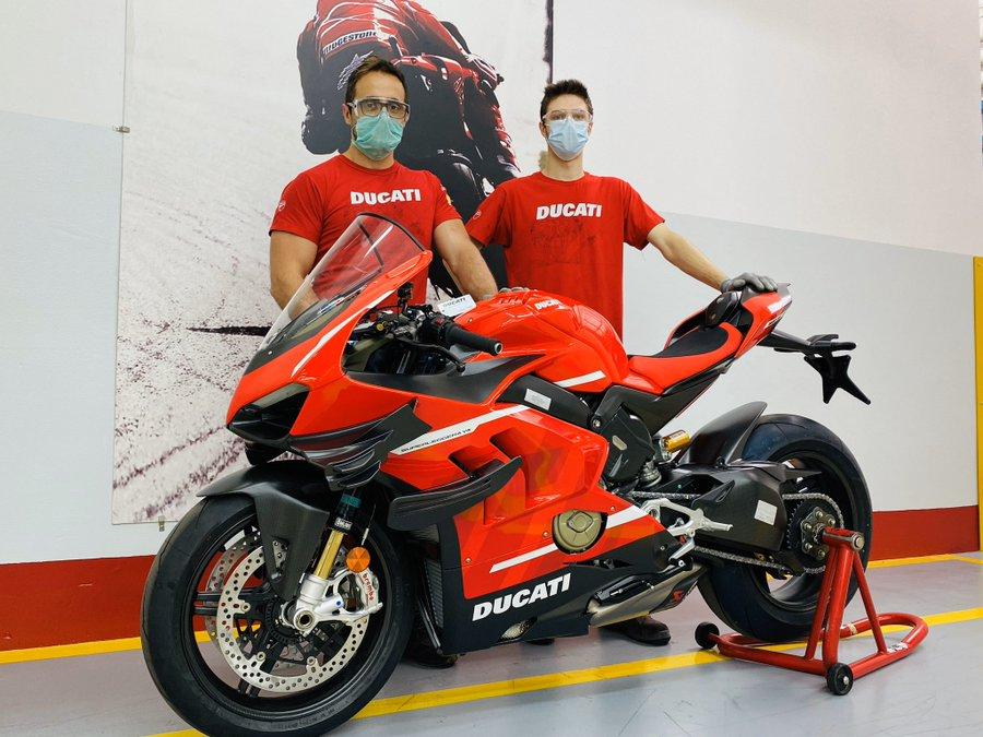 La Ducati Panigale V4 Superleggera 2021