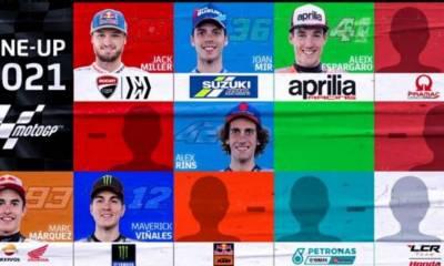 Parrilla MotoGP 2021