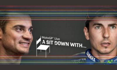Dani Pedrosa y Jorge Lorenzo A sit down with