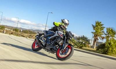 Prueba Yamaha MT-03 2020