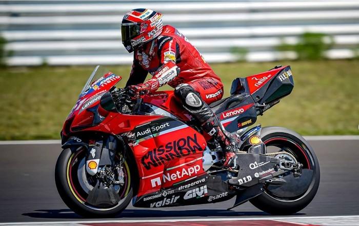 novedades tecnológicas de Ducati