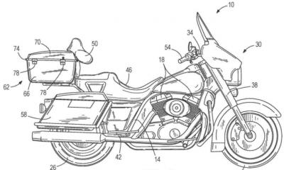 sistema de autoequilibrio Harley-Davidson