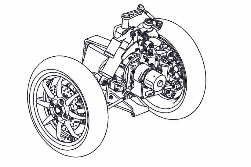 Yamaha T-Max tres ruedas