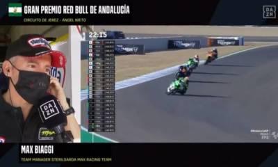 Alonso López no apto GP de Andalucía