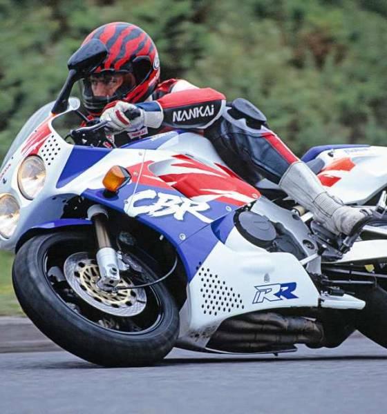 Moto histórica Honda CBR900RR