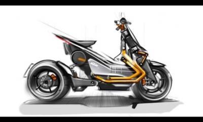 nuevo boceto scooter eléctrico KTM