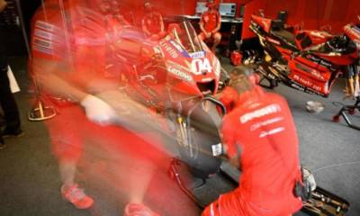 anuncio piloto Ducati Team 2021 antes Misano