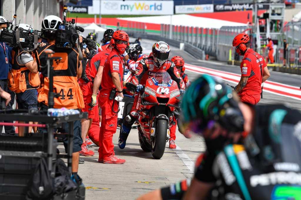 Carrera MotoGP GP Austria 2020