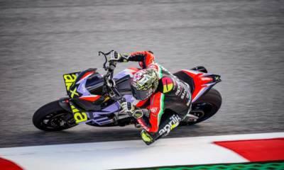 Aprilia Tuono V4X: la naked de MotoGP