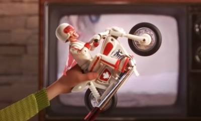 Evel Knievel en Toy Story 4