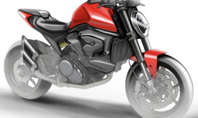 Ducati Monster 821 sin chasis multitubular