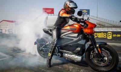 Récord aceleración Harley-Davidson LiveWire