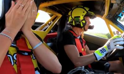 Rossi drifting vídeo