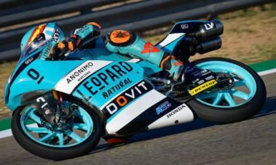 Carrera Moto3 GP de Aragón 2020