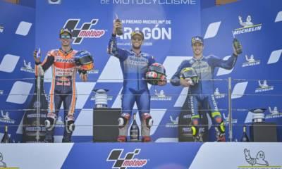 GP de Aragón de los 3 españoles del podio