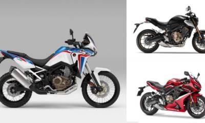 novedades Honda 2021 CB650R CBR650R Africa Twin
