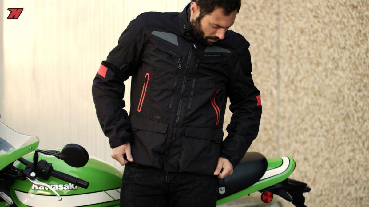 Chaqueta moto Spidi Discovery H2Out