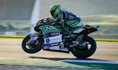 Pole Moto2 GP Portugal 2020