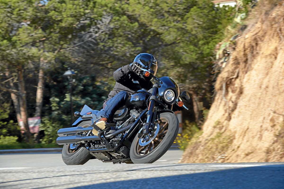 Prueba Harley-Davidson Low Rider S: Bad Boy