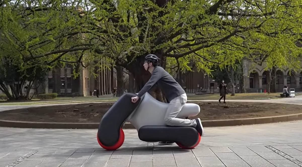 scooter eléctrico hinchable
