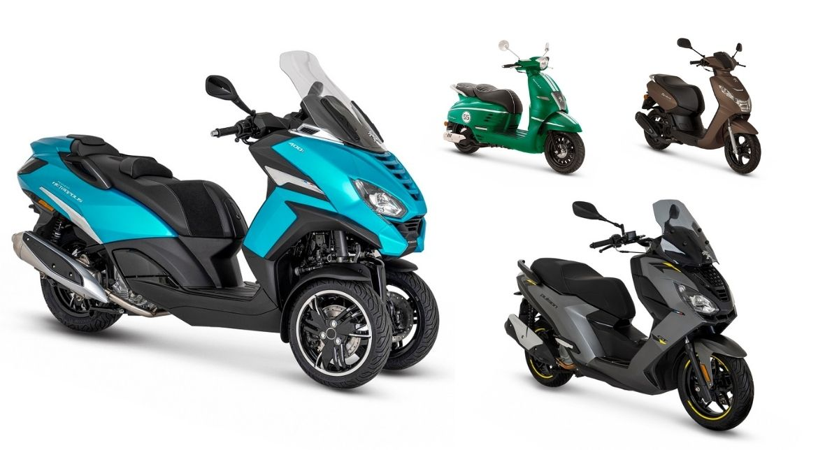 Gama Peugeot Motorcycles 2021