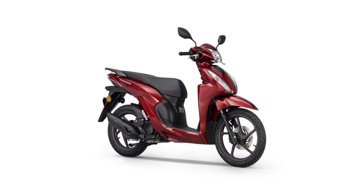 Honda Vision 110 2021 disponibilidad y precio