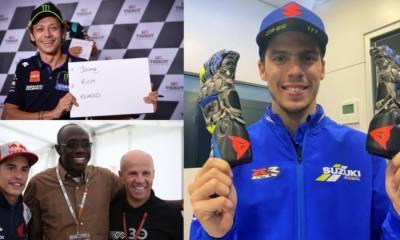 subasta solidaria de MotoGP 2020