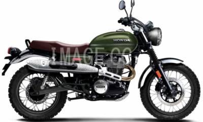 Honda CB350 Scrambler