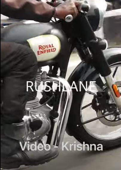 Royal Enfield 350 Classic, 3