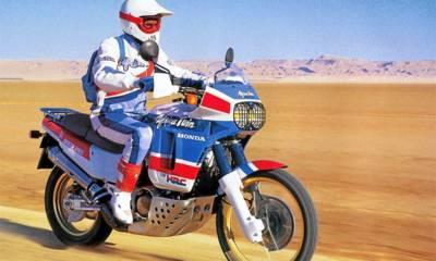 Moto histórica África Twin