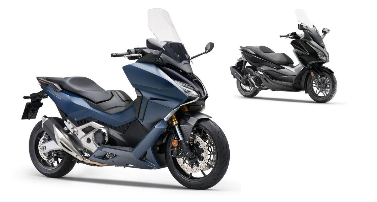 gama Honda Forza 2021 disponibilidad y precio