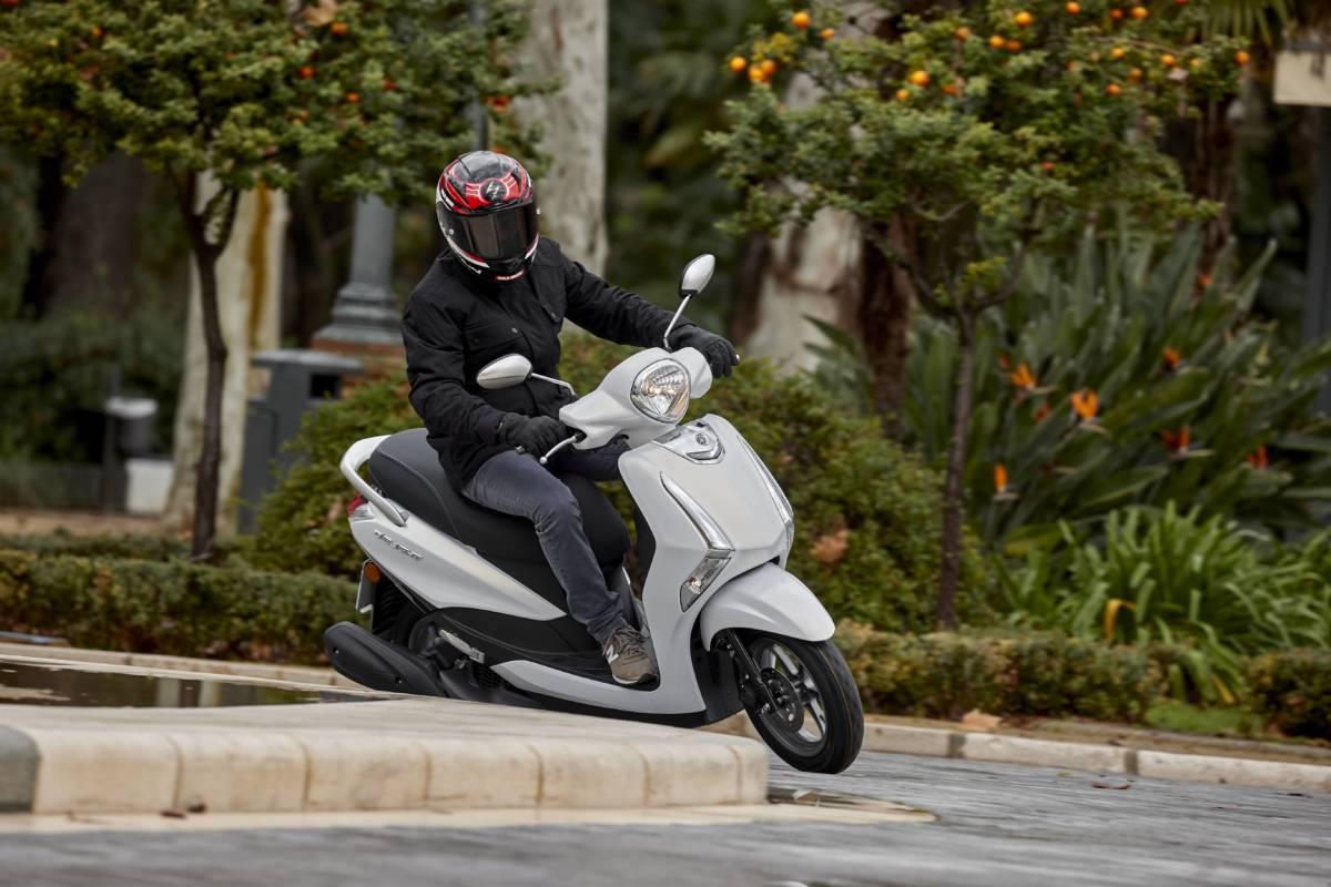 Prueba Yamaha D'elight 125 2021: Ágil y funcional