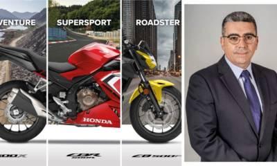 Nuevos cargos en la cúpula directiva de Honda España
