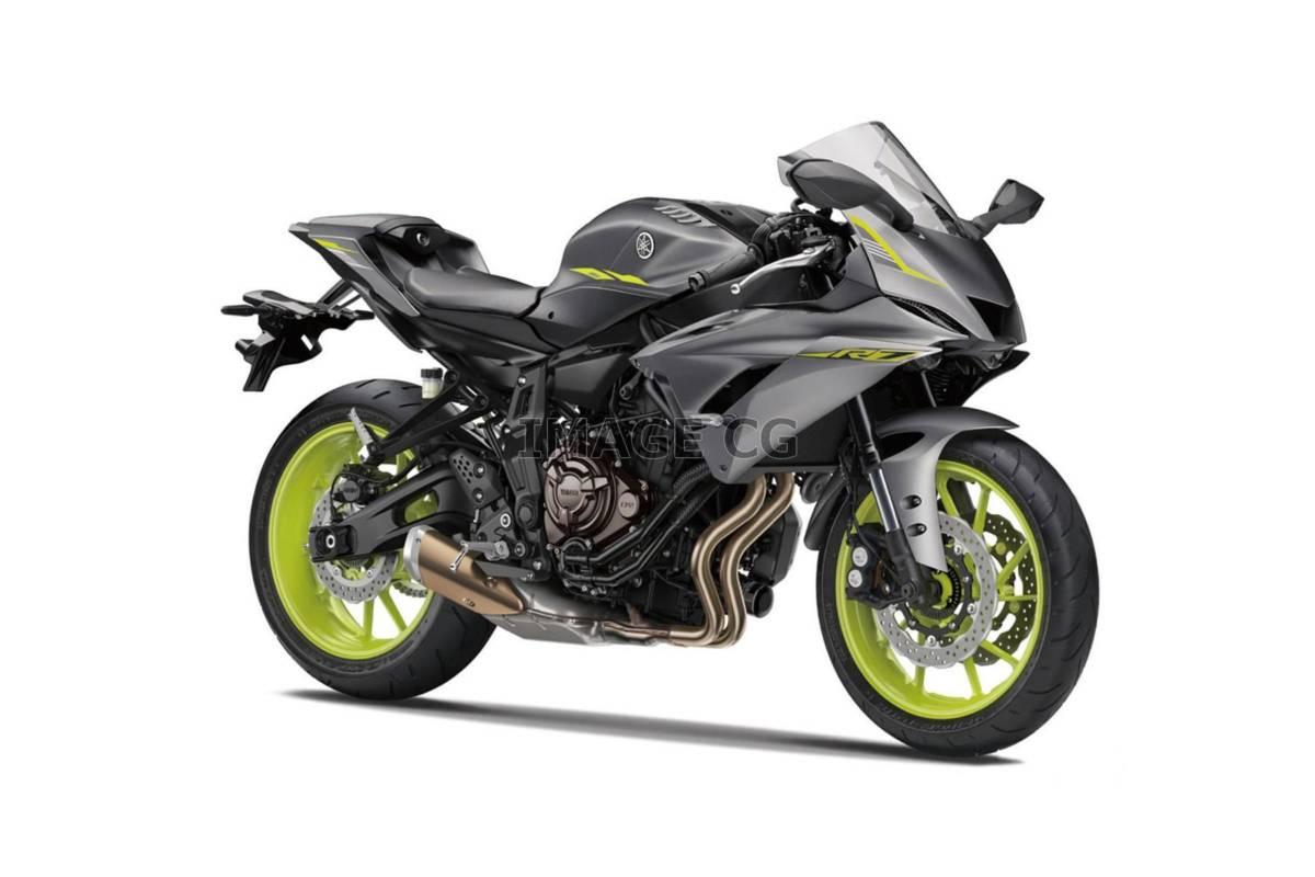Yamaha R7 registrada