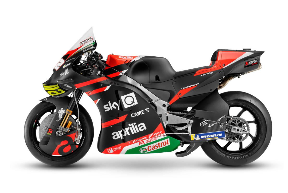 Revolucionaria Aprilia RS-GP 2021 3