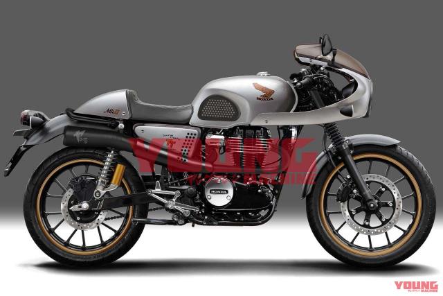 Honda CB350 TT MkII