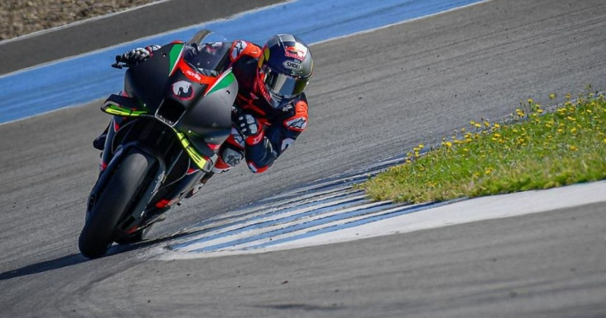 Dovizioso test Aprilia MotoGP