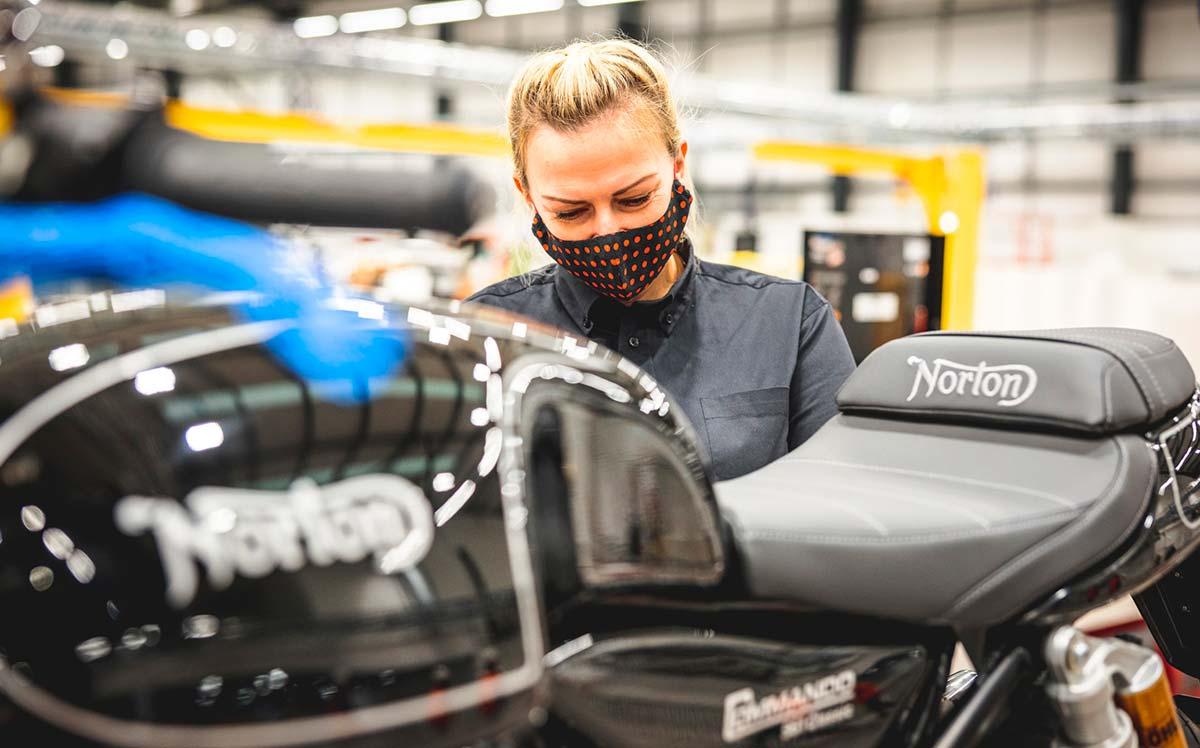 Nueva fábrica Norton en el Reino Unido
