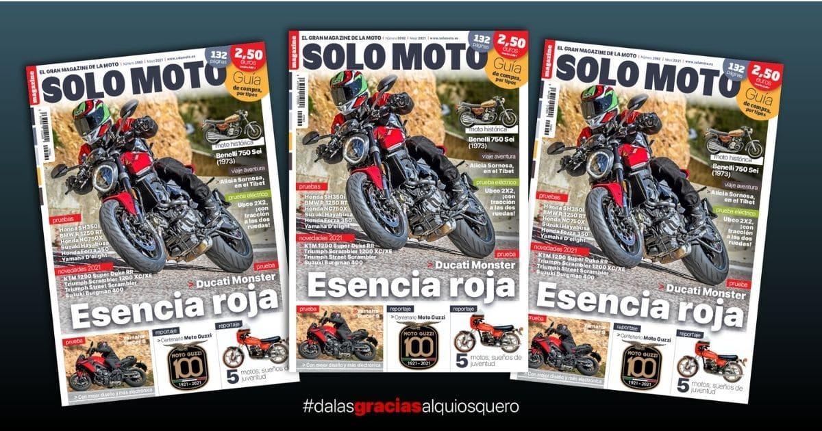 El Solo Moto 2062 de mayo ya a la venta