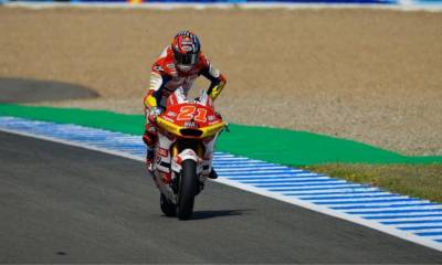 carrera Moto2 GP España 2021