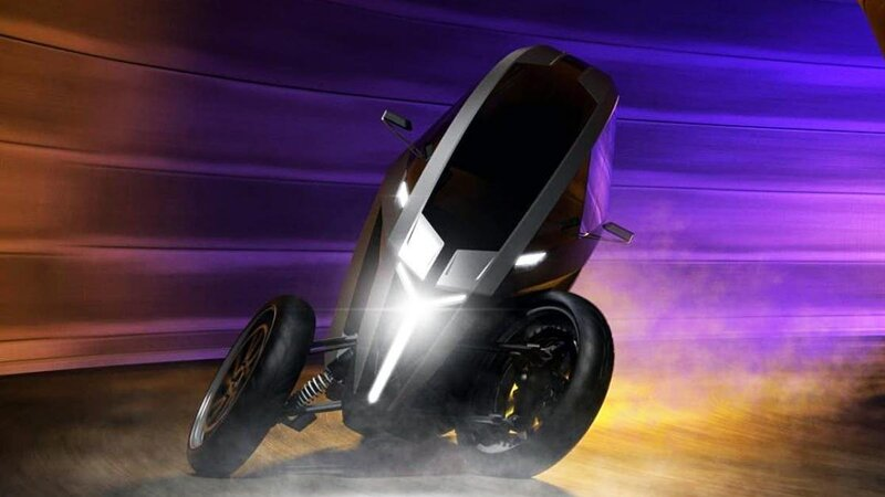 triciclo eléctrico a 230 km/h