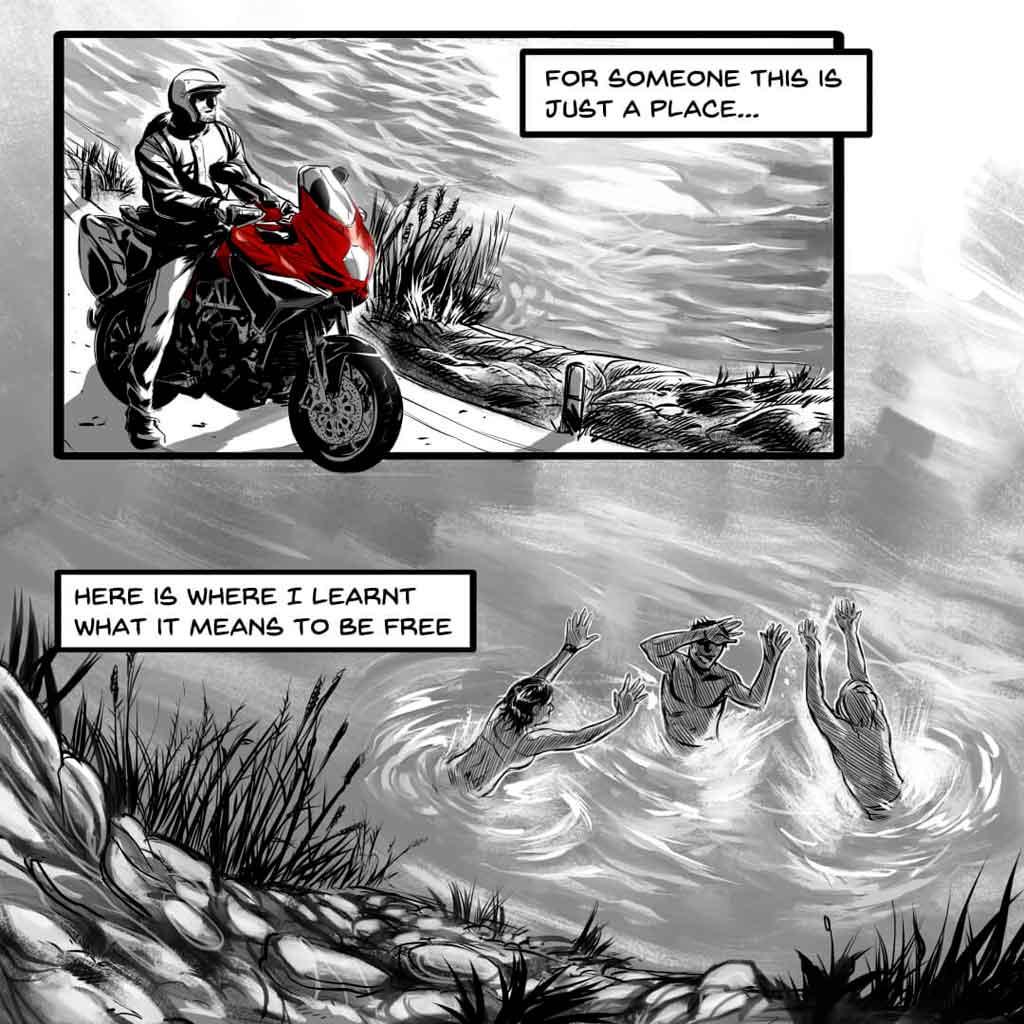 MV Agusta cómic