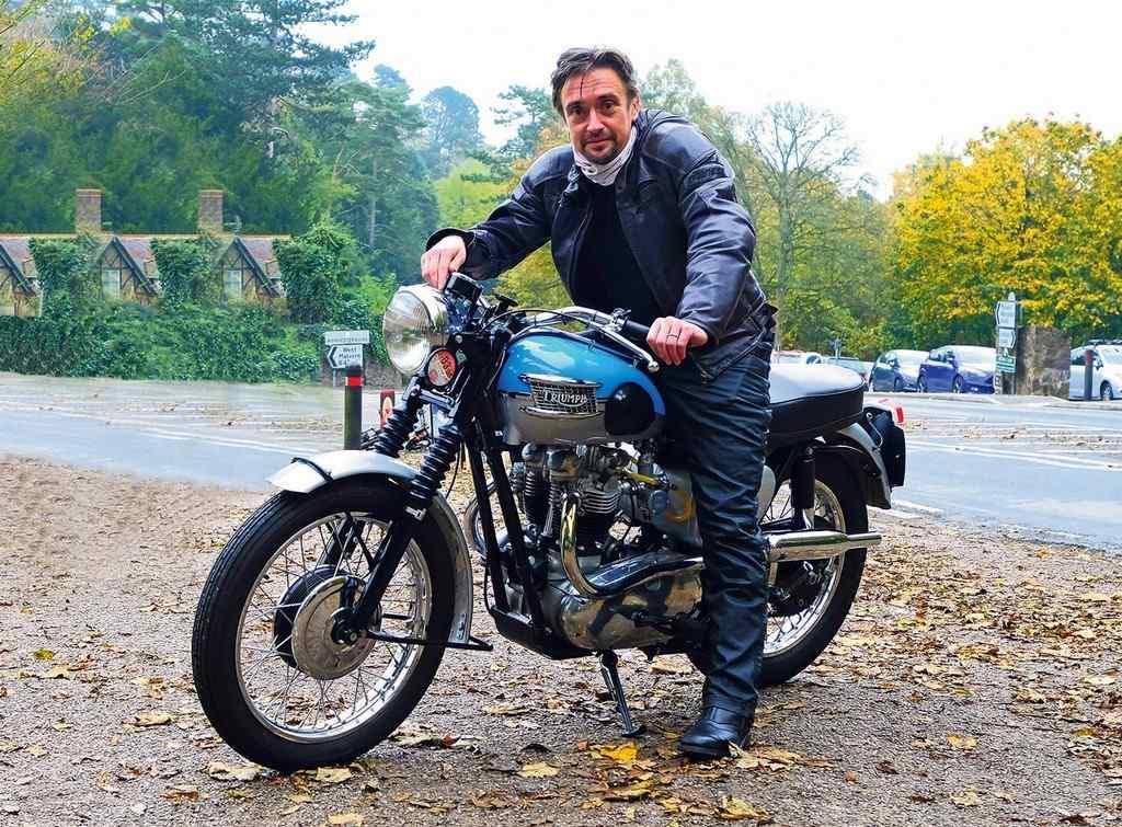 Richard Hammond vende sus motos