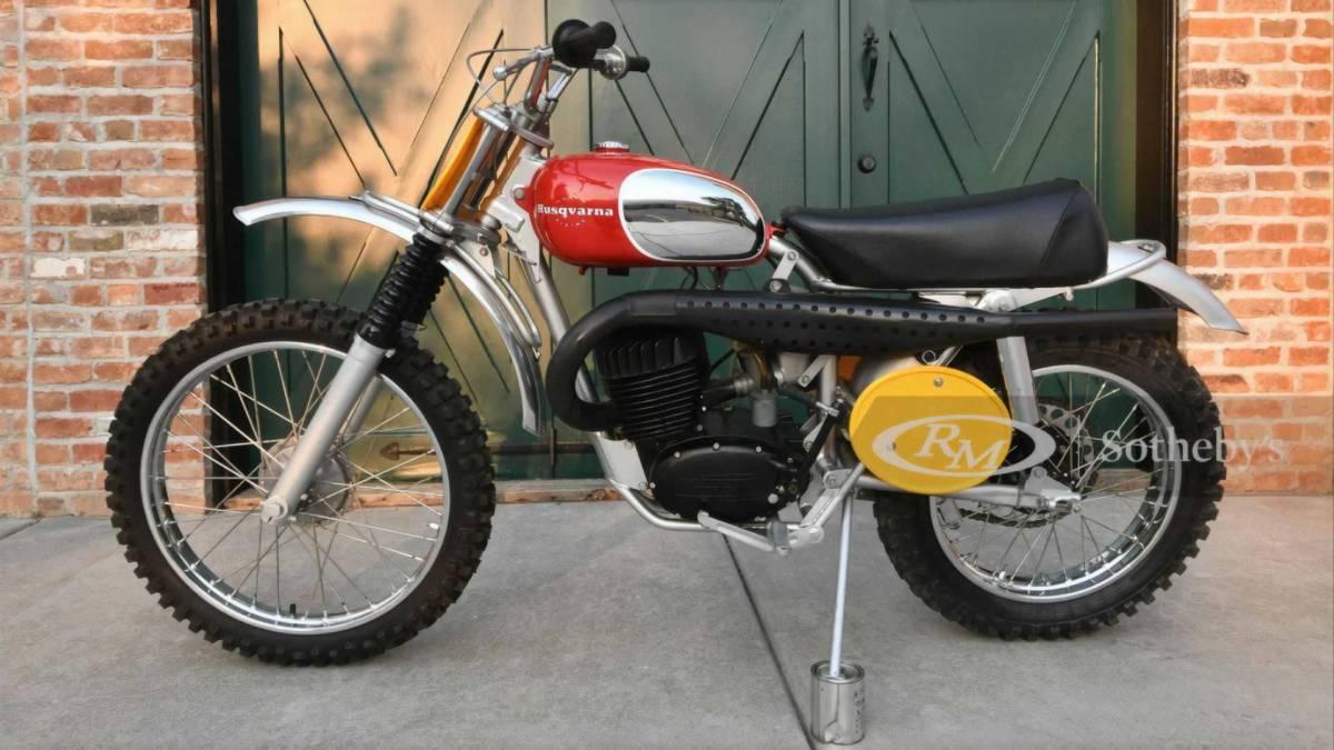 Husqvarna Viking 360 de 1968 que perteneció a Steve McQueen