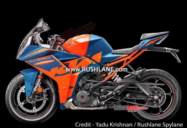 Nueva KTM RC390 2022