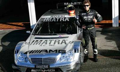 Valentino Rossi al DTM en 2022